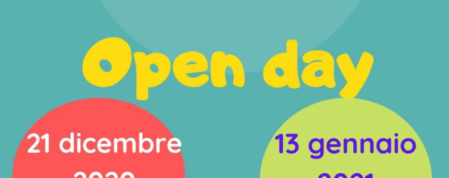 OPEN DAY VIRTUALE 2021 - 2022